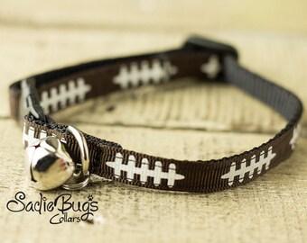 Football cat collar