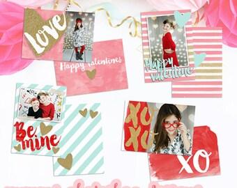 Valentines wallet card template, valentine wallets, valentine, photography marketing templates, valentine's template, photoshop, PSD file