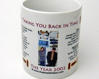 2002 Year In History Coffee Mug