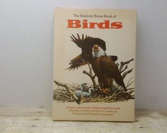 The Random House Book of Birds, 1970, vintage bird book