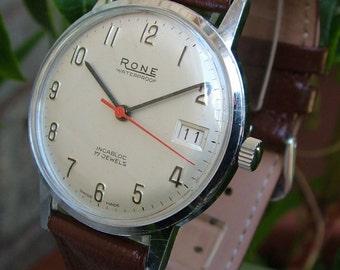 A gents 1960s Rone wrist watch