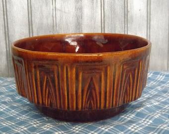 Vintage Haeger Pottery/Haeger Planter #157/Brown Vintage Planter/Home Decor/Indoor Gardening