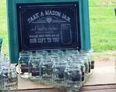 Mason Jar Decal, Mason jar sticker, Wedding Sticker Decals, Party Favor Wedding Stickers, Mason Jar Labels Custom Labels, Wedding Sticker