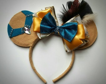 Pocahontas inspired Minnie Mouse Ears