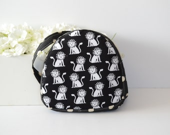 Toddler Backpack- Preschool tote - With ZIPPER - Lions