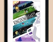 Kingdom Hearts Inspired Art Print