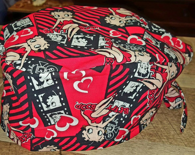 Betty Boop Surgical cap