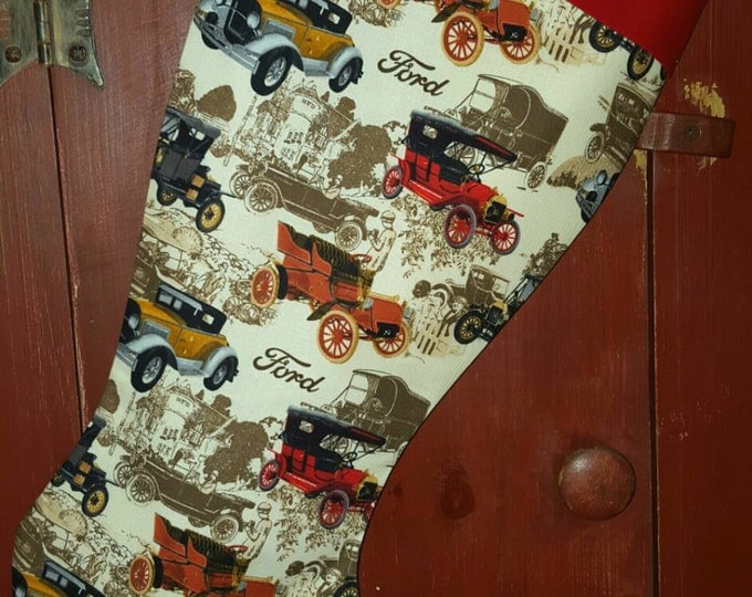Ford  Christmas Stocking