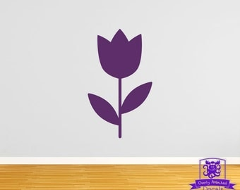Tulip Spring Flower Wall Decal