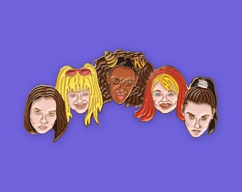SPICE POWER pin spice girls