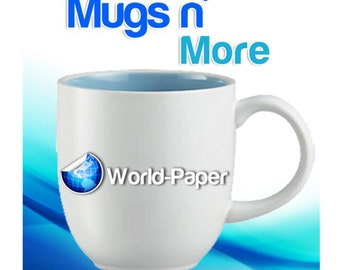"Mugs n More Laser Copier Heat Transfer Paper for Hard Surfaces 11"" x 17"" :)"