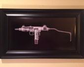 Mini Uzi CAT scan gun print - ...