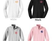 ON SALE! Women's Monogram Quarter Zip Pullover