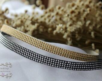 Rhinestone headband- Wedding Headband