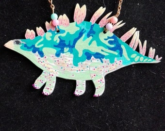 Necklace Stegosaurus