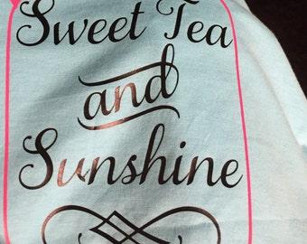Sweet tea and sunshine.