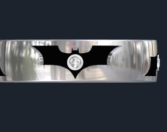 Dark Knight Batman Wedding or Anniversary Ring