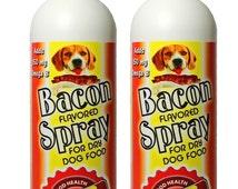 Bacon Flavor Spray For Dry Dog Food