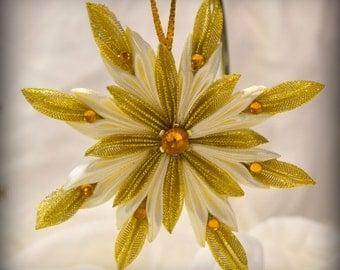 Christmas ornament snowflake