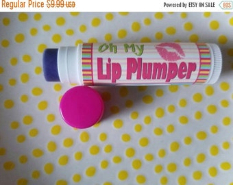Christmas in July Lip Plumper - Organic Lip Plumper - Natural Lip Plumper - Lip Plumping Balm - Shiny Lipgloss - Organic Cosmetics - Lip Plu
