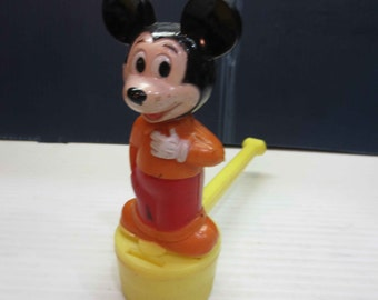 Vintage Mickey Mouse Bubble Blower Toy