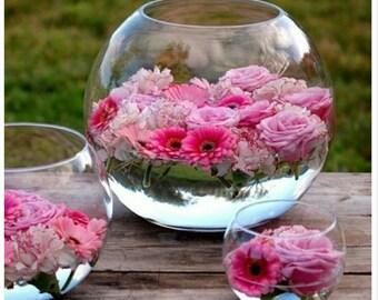 Floating flower bowls