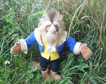 Beauty And The Beast, Beauty And The Beast Decorations, Stuffed Animal, 90s Toys, Stuffed Monster, Disney Beauty And The Beast, Disney Toys