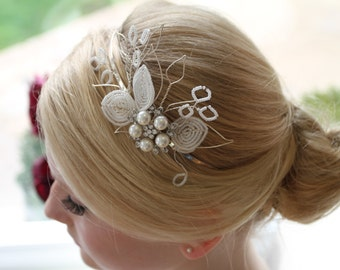 BRIDAL HEADPIECE / Tiara / Headband - ALLESANDRA