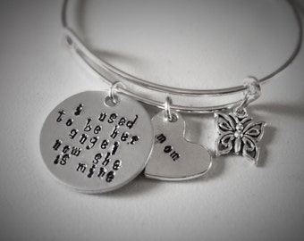 MOM Memorial Hand-stamped Charm Jewelry