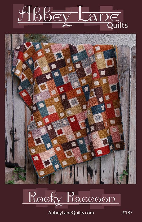 Abbey Lane Quilts Rocky Raccoon Fat Quarter Friendly Pattern