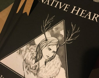 Native Heart Illustrated Poetry Book