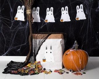 Powder cloud - paper bag M - rabbit spirit