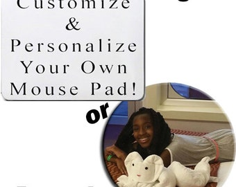 Personalized Mouse Pads with your photo or logo