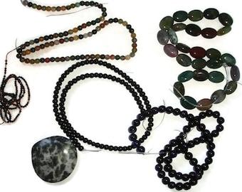 Gemstone strand lots of gemstones gemstone destash Gemstone strands Gemstone Pendant Destash gemstones Big lot of gemstones