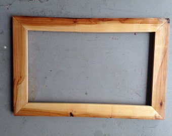 Sale: 12x20 Pecan Wood Picture Frame