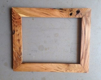 Custom 8x10 Oak Wood Picture Frame