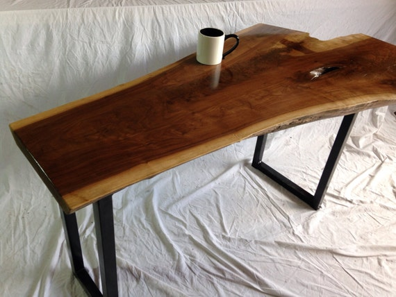Live Edge Console Table Live Edge Table Wood Slab Table
