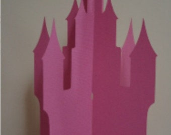 3D Fairytale Castle Centerpiece