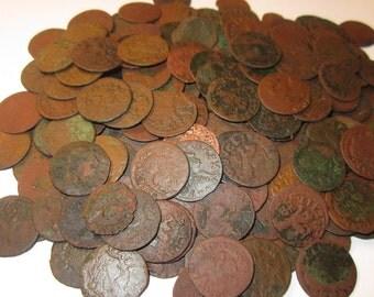 Three (3) Medieval Kingdom of Poland Johann Boratyn Schillings 1666 for Ten Dollars!!