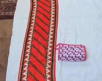 Vintage Ann Klein Scarf (100% Silk) 10x52