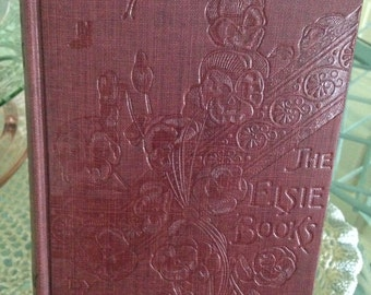 """1918 Edition of """" Elsie Yachting With The Raymonds""""  by Martha Finley"""