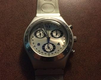 Vintage Swatch irony aluminum