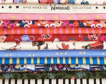 Pre-Sale- Quilter's Pack- Wonderland by Rifle Paper Co for Cotton and Steel