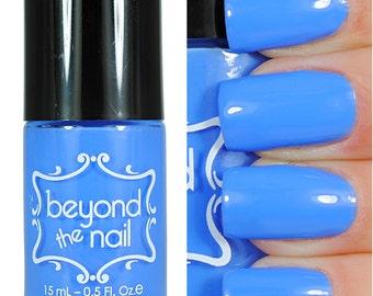 Cornflower Blue Creme Nail Polish