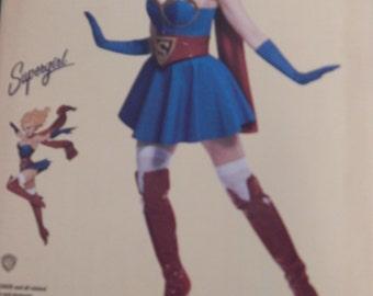 Bombshell Supergirl Inspired Costume