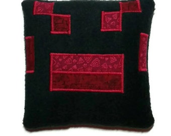 """Valentine gift ideas, Minecraft spider, rice heat pack, microwave heating pad, reusable bed warmer, pain relief, 5.5""""x5.5"""", FREE SHIPPING!"""