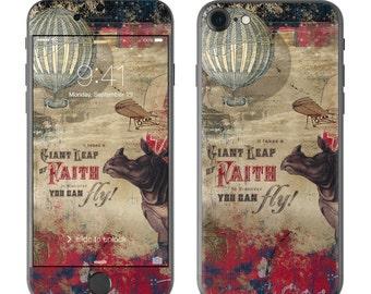 Leap Of Faith by Duirwaigh Studios - iPhone 7/7 Plus Skin - Sticker Decal