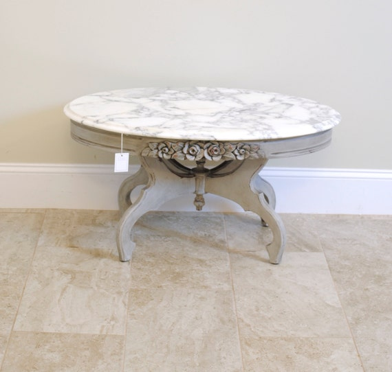 Marble Coffee Table Cleaner: Grey Distressed Marble Top Coffee Table