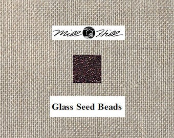 Mill Hill - Glass Seed Beads - Garnet 00367 - 11/0 2.2mm - 4.54 Grams - By the Package