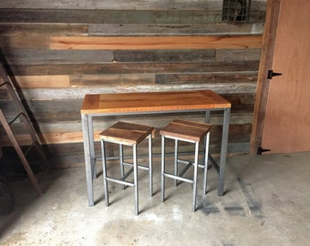 Counter Height Dining Table, Pub Table -  Reclaimed Wood